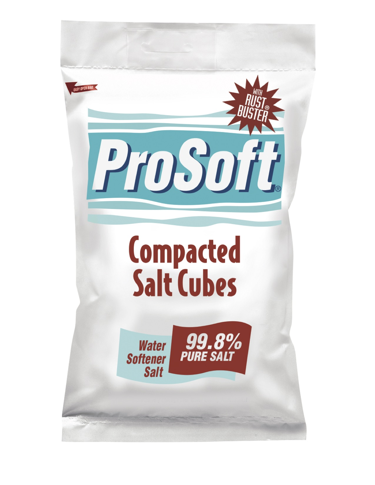 ProSoft Compacted Salt Cubes With Salt Buster